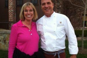 Meeting Michael Chiarello at his restaurant Bottega in Napa Valley