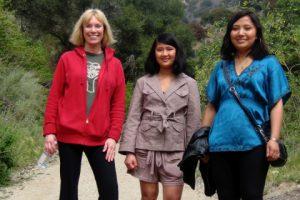 Burbank Sherpa Ruth Frechman takes Nepal girls for a hike