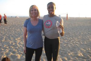 Working Out with Olympian Lashinda Demus
