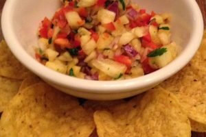 What Does Super Bowl Sunday and Pineapple Salsa Have in Common?