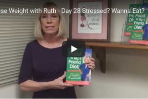 The Food Is My Friend Diet by Ruth Frechman – Day 28 Stressed? Wanna Eat?