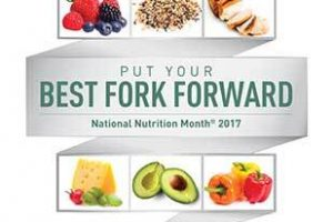 Lose Weight with Ruth: Put Your Best Fork Forward with National Nutrition…